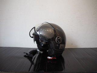 モモデザイン momo designe ファイター FIGHTER ECE22-05 ジェットヘルメット サンバイザー付 ガンメタリック ★