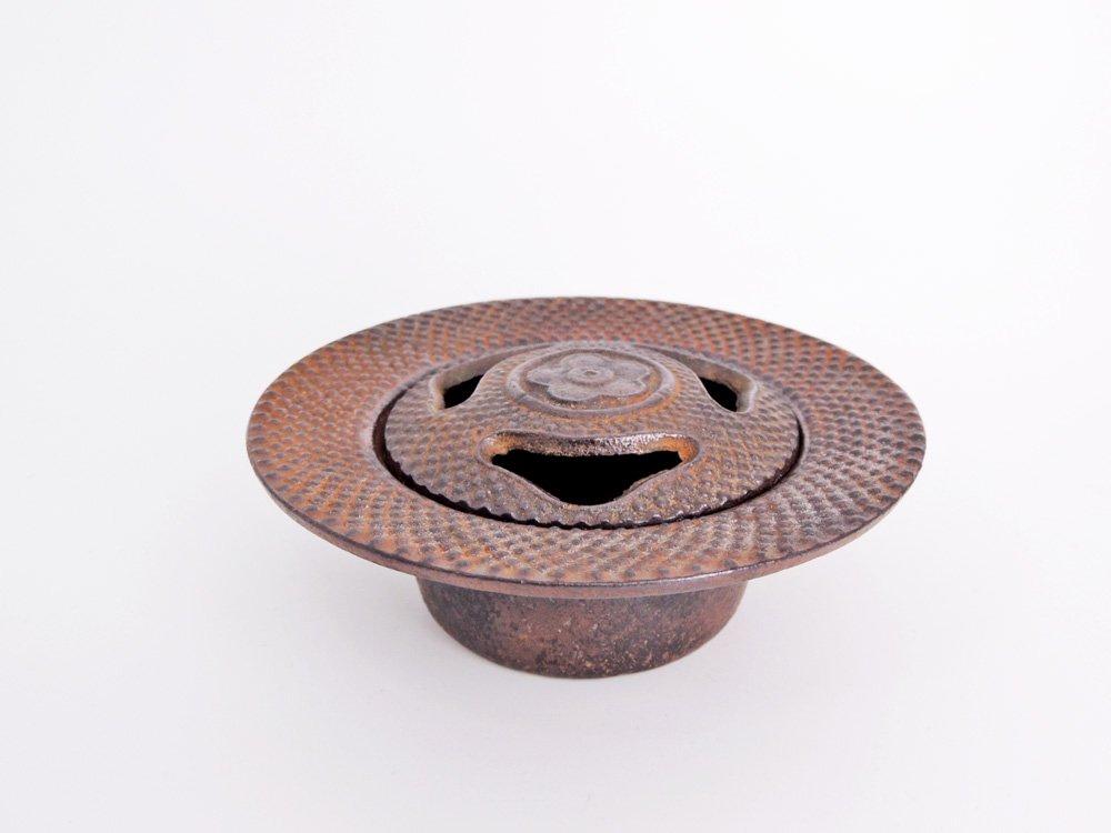 南部鉄器 灰皿 アシュトレイ 梅 あられ模様 鋳鉄 伝統工芸 工芸品 ●