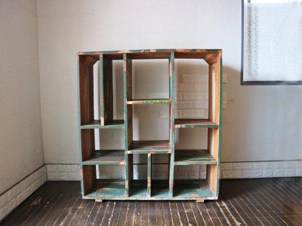 ジャーナルスタンダードファニチャー journal standard Furniture jsf ドリュー DREUX オープンシェルフ 古材 インダストリアル ミリタリーテイスト 廃番 ◎