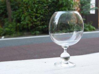 木下宝 玉付きステムグラス ワイングラス 現代作家 ■