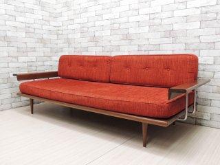 アクメファニチャー ACME Furniture カーディフ CARDIFF 3Pソファ タモ無垢材 定価約¥260,000- ●