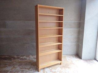 無印良品 MUJI タモ材 組み合わせて使える木製収納 高さ175cm 本棚 ブックシェルフ B ♪