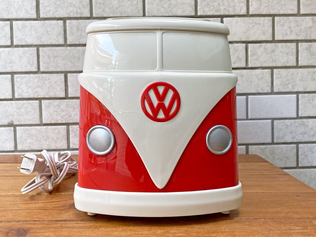 フォルクスワーゲン Volkswagen ワーゲンバス トースター 赤 非売品 希少アイテム 箱付 未使用保管品 ■