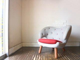 ワンコレクション Onecollection ハウスオブ フィンユール HOUSE OF FINNJUHL ペリカンチェア ボタン付き Pelican Chair with buttons ◎