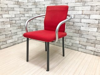 ノール Knoll マンダリンチェア mandarin chair ダイニングチェア エットーレ・ソットサス ポストモダン イタリア 定価 ¥93,500- ●