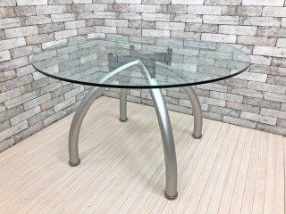 ノール Knoll スパイダーテーブル Spider Dining Table エットーレ・ソットサス ポストモダン イタリア  ●