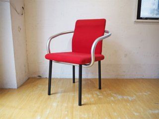 ノル Knoll ノール マンダリンチェア mandarin chair ダイニングチェア エットーレ・ソットサス ポストモダン イタリア 定価 ¥93,500- ★