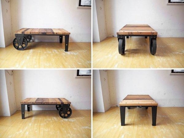 ジャーナルスタンダードファニチャー Journal Standard Furniture ブルージュドリー BRUGES DOLLY ローテーブル インダストリアル ★