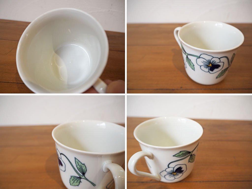 ロールストランド Rorstrand シルビア Sylvia コーヒーカップ&ソーサー A シルヴィア 北欧 食器 スウェーデン Sweden 250周年記念 ★