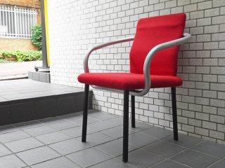 ノル Knoll ノール マンダリンチェア mandarin chair ダイニングチェア エットーレ・ソットサス ポストモダン イタリア 定価 ¥93,500- ■