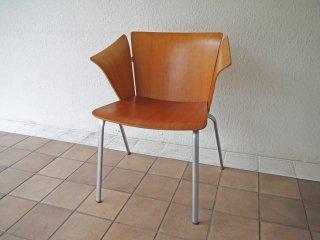 フリッツハンセン Fritz Hansen VM1 ヴィコチェア VICO Chair ヴィコ・マジストレッティ スタッキング プライウッド 参考価格\136,000~ 廃番 A ◇