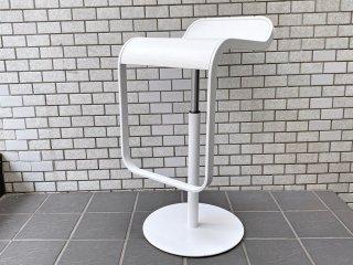 ラパルマ La palma レム LEM カウンタースツール ミッレリーゲホワイト 昇降式 カウンターチェア デザインユニット AZUMI アズミ 美品 A ■