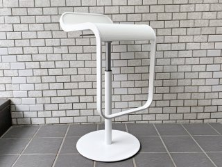 ラパルマ La palma レム LEM カウンタースツール ミッレリーゲホワイト 昇降式 カウンターチェア デザインユニット AZUMI アズミ 美品 B ■