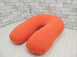 ヨギボー yogibo サポート Support クッション 背もたれ&肘置き オレンジ ●