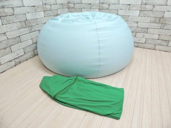 ヨギボー yogibo ドロップ DROP ビーズ 1Pソファ クッション グリーン ●