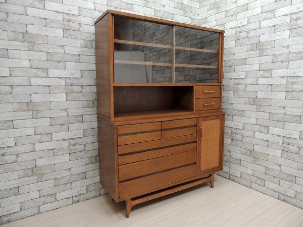 アクメ ファニチャー ACME Furniture ブルックスキャビネット BROOKS CABINET アメリカンビンテージスタイル カップボード 食器棚 ●
