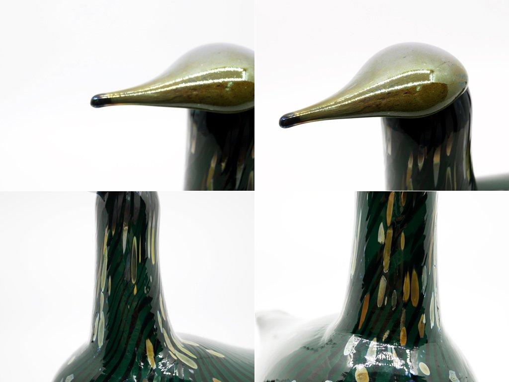 イッタラ iittala イッタラバード Swamp Curlew 980/3000 オイバ・トイッカ Oiva Toikka 1993-94 ●