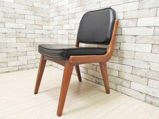 アクメファニチャー ACME Furniture シエラチェア SIERRA CHAIR ダイニングチェア ビニールレザーシート ブラック アメリカンビンテージスタイル ●