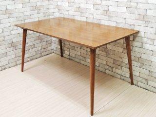 アクメファニチャー ACME Furniture カーディフ CARDIFF ダイニングテーブル ハックベリー材 W150cm アメリカンビンテージスタイル ●