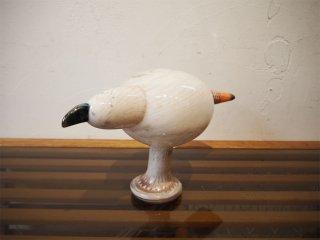 イッタラ iittala バード Bird ペールマレ Pale Male ホワイト 2007年 1000羽 北米限定 オイバ トイッカ Oiva Toikka ★
