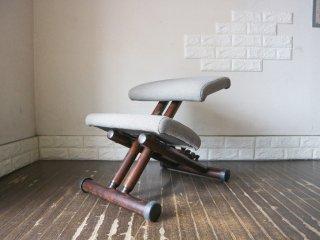 ストッケ STOKKE マルチバランス MALTI balans バランスチェア 学習椅子 グレー×ブラウン 北欧 ノルウェー ◎