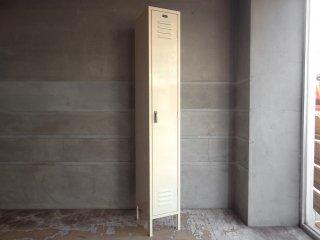 マーキュリーファニチャー Mercury Furniture スチール ロッカー ホワイト アメリカ製 アイボリー インダストリアル ♪