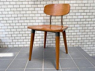 アクメ ファニチャー ACME Furniture USビンテージ ダイニングチェア 無垢材×アイアン インダストリアル A ■