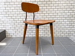 アクメ ファニチャー ACME Furniture USビンテージ ダイニングチェア 無垢材×アイアン インダストリアル B ■
