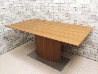 モーダエンカーサ moda en casa ピアッツァ テーブル piazza table ダイニングテーブル ウォールナット材 モダンデザイン ●