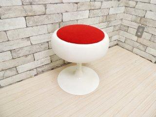 スウィッチ SWITCH ファット スツール Fat stool ファブリック レッド 座面回転式 スペースエイジ 定価: \29,150- B ●
