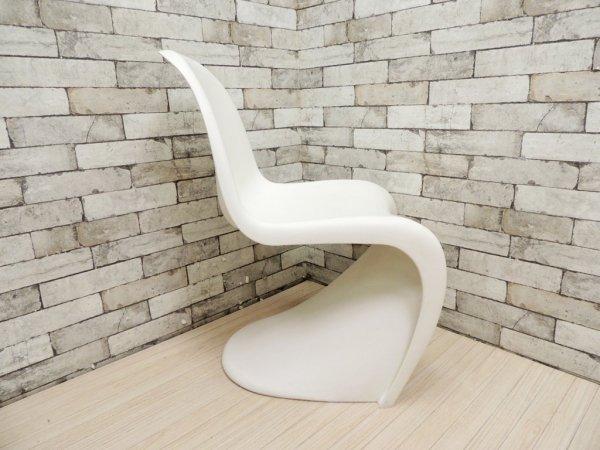 ヴィトラ vitra パントンチェア Panton Chair ホワイト ヴェルナー・パントン Panton スタッキングチェア ミッドセンチュリー スペースエイジ A ●