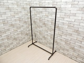 インダストリアルスタイル Industrial Style ハンガーラック アイアン パイプ 工業系 店舗什器 A ●