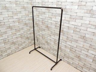 インダストリアルスタイル Industrial Style ハンガーラック アイアン パイプ 工業系 店舗什器 B ●