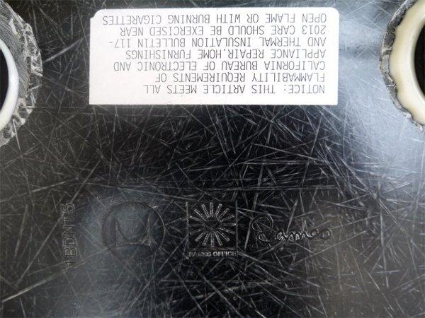ハーマンミラー HermanMiller サイドシェルチェア 現行 FRP製 BK シェル × ジンク 1st エッフェルベース DSR ミッドセンチュリー C&R.イームズ Eames 美品 ◇