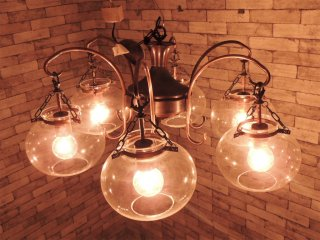 アンティークスタイル Antique style 6灯 ペンダントライト シャンデリア ヨーロピアンクラシカル ●