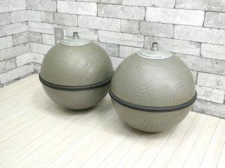 ビクター Victor グローブスピーカー GLOBE SPEAKER SYSTEM GB-1H 全無指向性 天井ボール型 球体型 スピーカー ペア ●