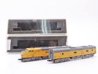 コンコー CON-COR ユニオンパシフィック UNION PACIFIC 2両セット Nゲージ ケース付 鉄道模型 ●