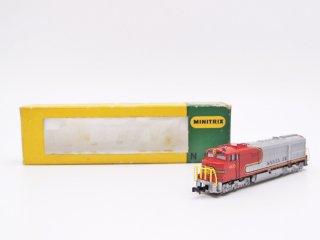 ミニトリックス MINITRIX US-Disellok Santa Fe 鉄道模型 Nゲージ 9mm 西ドイツ ●