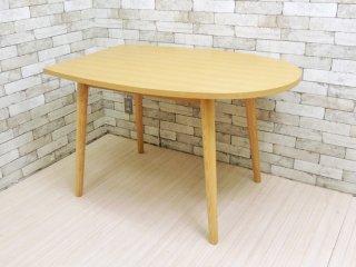 フランフラン Francfranc パルセイロ ダイニングテーブル アッシュ材 ナチュラル w120cm ●