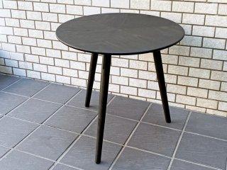 モーダエンカーサ moda en casa サイドテーブル コーヒーテーブル オーク材 ダークブラウン シンプル 北欧モダン ■