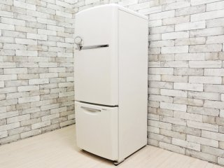 ナショナル National ウィル WiLL 冷凍冷蔵庫 ホワイト 2005年製 162L 廃番 ノスタルジックデザイン ●