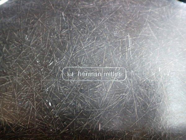 ハーマンミラー Herman Miller イームズ ビンテージ サイド シェルチェア 3rd チャコール + ロッカーベース ミッドセンチュリー ◎