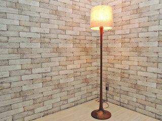 ノリムラ KK. NORIMURA ウォールナット材 フロアスタンド フロアライト 照明 北欧スタイル ●