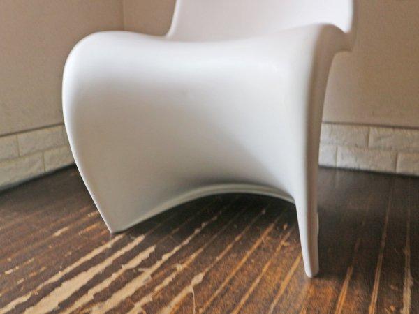 ヴィトラ vitra パントンチェア Panton Chair ホワイト ヴェルナー・パントン Verner Panton スタッキングチェア ◎
