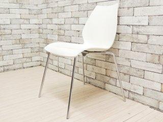 カルテル Kartell マウイチェア Maui chair ホワイト ヴィコ・マジストレッティ デザイン スタッキング B ●