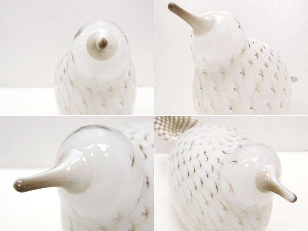 イッタラ iittala イッタラバード Birds by Toikka ラケル Requel ホワイト Annual Bird 2009 箱付 オイバ・トイッカ Oiva Toikka 北欧雑貨 ●