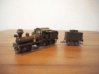 鉄道模型社 18t SHAY-GEARED 型 (2シリンダー) 未塗装 一部未組立 18トンSL 阿里山森林鉄路 Nゲージ ★
