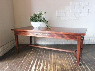 クラシックスタイル マホガニー材 センターテーブル コーヒーテーブル ◎