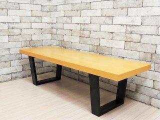 ランドスケーププロダクツ Landscape Products スクエアレッグテーブル SQUARE LEGS TABLE メープル材 Mサイズ 廃盤品 ●