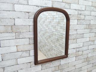 マルニ木工 maruni 木製フレーム ウォールミラー 鏡 姿見 壁掛け クラシカル デザイン ●